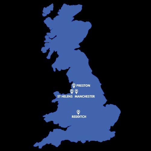 swift location map