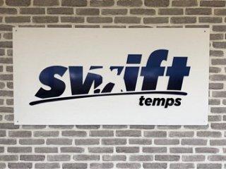 swift logo board